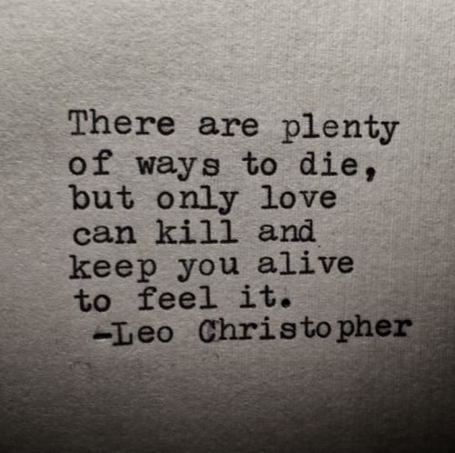 ways to die